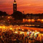 Mercato di Djema el Fnaa - Marrakesh